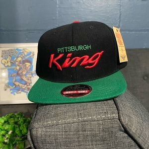 Dead stock Pittsburgh kings Gucci color wave hat